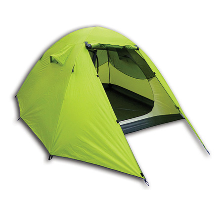 אוהל איגלו ל-4 אנשים עם 2 מרפסות ציוד