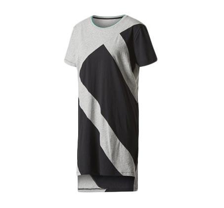 שמלת ADIDAS לנשים - אפור ושחור