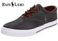 נעלי עור נמוכות Polo Ralph Lauren דגם Vaughn