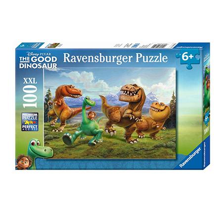 פאזל דינוזאורים והילד 100 חלקים Ravensburger