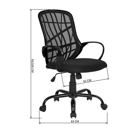 כיסא היי-טק מעוצב למשרד או לתלמיד Homax במגוון צבעים לבחירה - תמונה 7