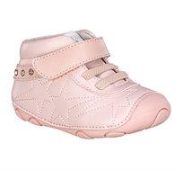 נעלי צעד ראשון סופטי תפרים לתינוקות - ורוד