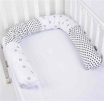 נחשוש כרית למיטת תינוק  100% כותנה בגוונים לבחירה