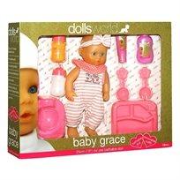 עולם הבובות גרייס 25 ס''מ ערכת מתנה