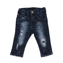 Oro ג'ינס(12 חודשים -16 שנים) - כחול שטיפה פאטצ'