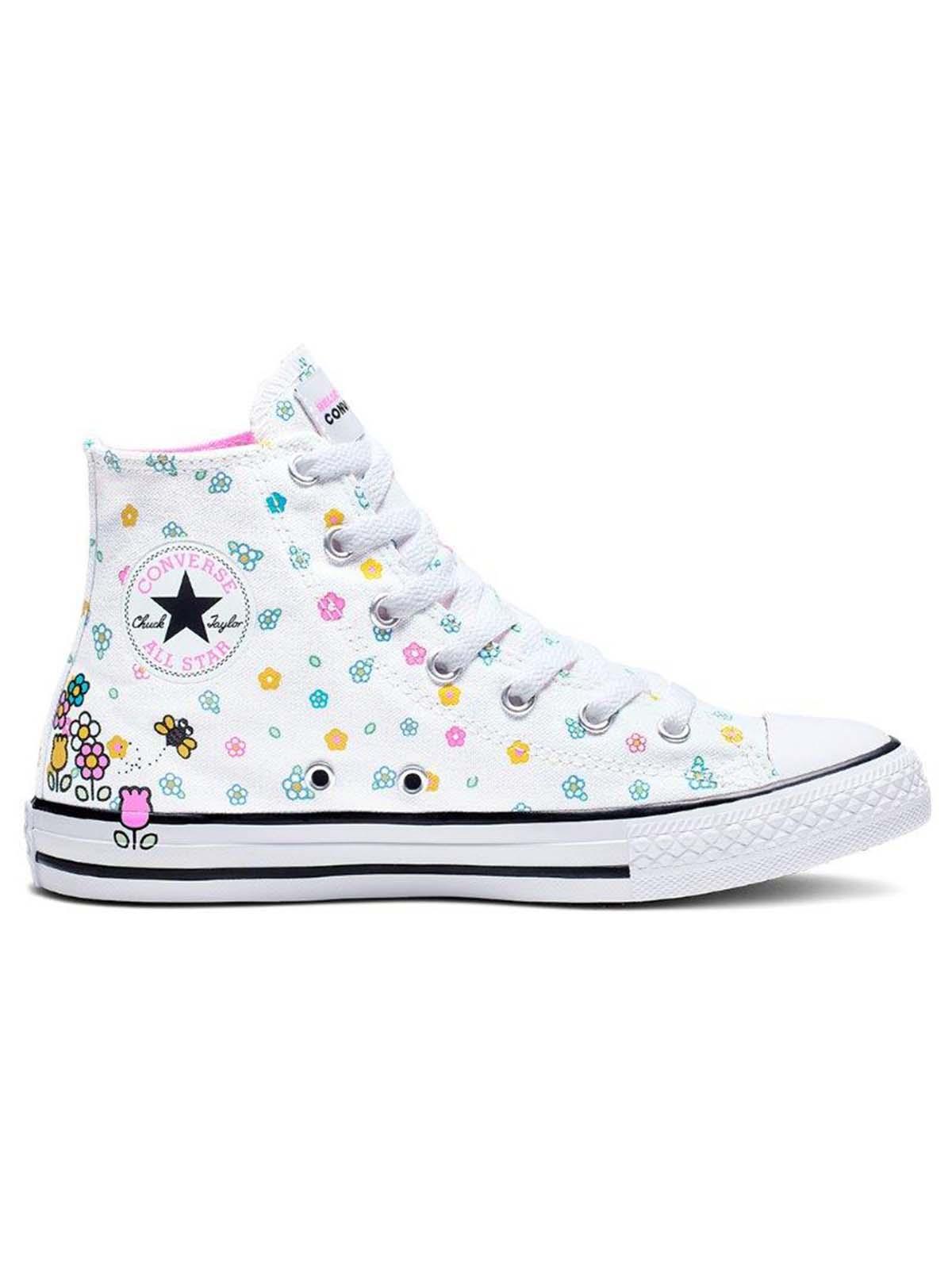 Converse ילדים // Hello Kitty  גבוה