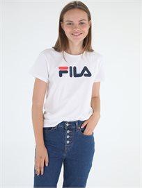 חולצה פילה לבנה לנשים - Fila T-Shirt White Plastisol Print