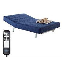 לזמן מוגבל! מיטת נוער מתכווננת מדגם Happy, מזרן VISCO אורטופדי, מבית Aeroflex