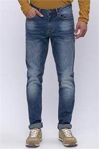 ג'ינס גזרה ישרה 5 כיסים