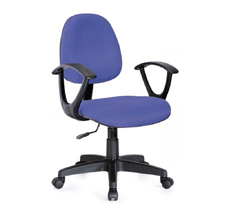 כיסא אורתופדי מרופד עם גב גבוה