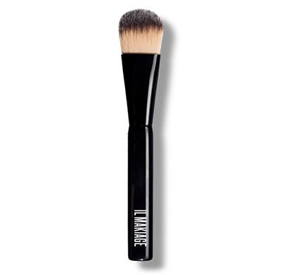 מברשת מייקאפ להנחת בסיס נוזלי או קרמי + תיק איפור ועפרון שפתיים מתנה