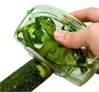 קולפן אוגר פסולת, נוח וקל לשימוש המתאים לפירות וירקות וכולל סכין נירוסטה