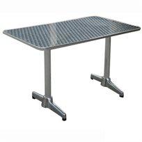 """שולחן אלומיניום מידה 120/70 ס""""מ דגם טומי"""