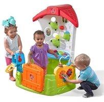 פינת פעילות בית לפעוטות Toddler Corner House עם 15 אביזרי משחק 8771