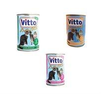 30 יחידות שימורים פטה לחתולים Vitto