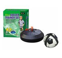 מאמן כדורגל - מתקן 360° וכדור, לאימון ושיפור קואורדינציה ויכולות הכדורגל