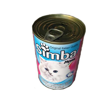 12 יחידות שימורים לחתול בטעמים מגוונים מבית Simba - תמונה 6