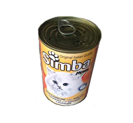 12 יחידות שימורים לחתול בטעמים מגוונים מבית Simba - תמונה 5