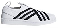 Adidas נשים\\ Superstar Slipon לבן