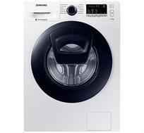 """מכונת כביסה 8 ק""""ג Samsung אינוורטר פתח קדמי 1400 סל""""ד בטכנולוגיית add wash דגם WW80K44305"""
