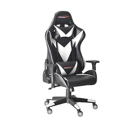 כיסא גיימר הורייזון  KARTOS  לבן