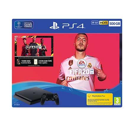 מכירה מוקדמת  קונסולת Playstation 4 SLIM עם המשחק FIFA20 בנפח 500GB