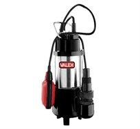 משאבת מים דלוחים טבולה מנירוסטה, תוצרת חברת Valex האמריקאית, דגם VA-7-7-0.55A - משלוח חינם!