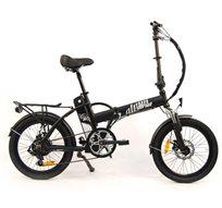 אופניים חשמליים Alpha Pro Basic עם מנוע 220V, ממשק הפעלה LCD ו-6 הילוכים
