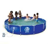 בריכת שחייה מסגרת עגולה 3.6x0.76 מ'