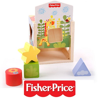 משחק התפתחות בית התאמת צורה Fisher Price