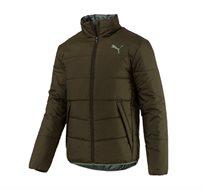 מעיל מרופד פומה דגם PUMA L85159715 - ירוק
