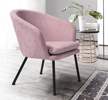 כיסא מרופד בעיצוב מודרני דגם דיקסי בצבעים לבחירה