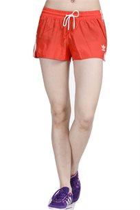 מכנס קצר ADIDAS לנשים בצבע אדום