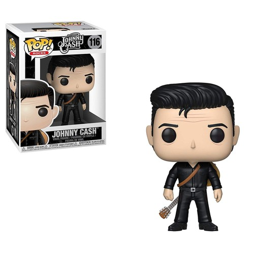 Funko Pop - Johnny Cash (Johnny Cash) 116 בובת פופ ג'וני קאש