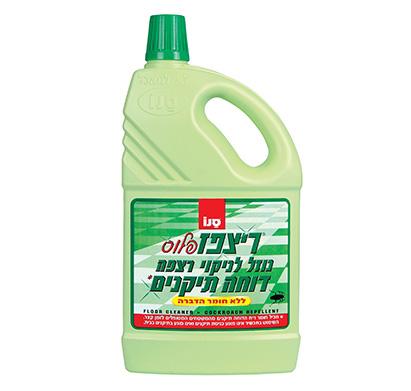 סנו רצפז פלוס נוזל לניקוי רצפה דוחה חרקים