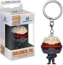 Funko Pop - Soldier:76 Keychain מחזיק מפתחות