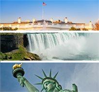 טיול משפחות-מפלי הניאגרה, וושינגטון, מנהטן, אורלנדו ודיסנילנד ועוד החל מכ-$3955*