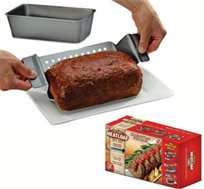 תבנית בשר perfect meatloaf pan