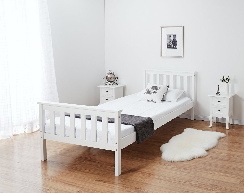 סט 2 שידות לילה מעוצבות נוחות ושימושיות לצידי המיטה בחדר השינה - תמונה 5