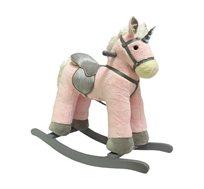 נדנדת חד קרן סוס משחק לילדים בצבע ורוד או שמנת לבחירה Bgifts