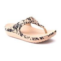 Crocs Sloane Leopard Flip - כפכף אצבע מנומר