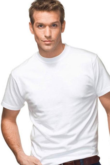 מארז שש חולצות טישירט יוניסקס - לבן