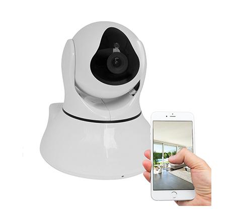 מצלמת אבטחה IP אלחוטית 360 מעלות וחכמה HD עם אפשרות הקלטה על כרטיס זיכרון עד חודש ימים - משלוח חינם - תמונה 2