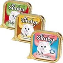 15 מעדן לחתולים סימבה פטה עוף