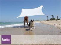 עושים צל! אוהל הצללה עשוי לייקרה בגודל 3X4 מטר, לשימוש במהלך העונה לגינה, לים, לטיולים ועוד