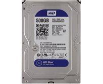 """כונן קשיח פנימי Western Digital Blue בגודל """"3.5 בנפח 500GB דגם WD5000AZLX"""