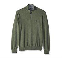 סוודר נאוטיקה לגבר דגם S831043PB - ירוק