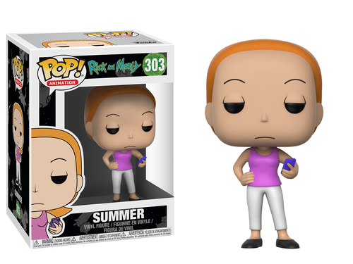Funko Pop - Summer (Rick And Morty)  303 בובת פופ ריק ומורטי סאמר