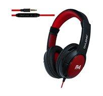 אוזניות סטריאו ON-EAR איכותיות OVLENG דגם A4 סאונד איכותי ועשיר עם מיקרופון מובנה