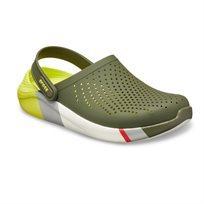 Crocs Literide Colorblock Clog - נעלי קלוג לייט רייד בצבע צהובאפורלבן